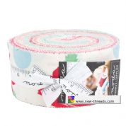 "Cheeky - Jelly Roll by Urban Chiks for Moda Fabrics - 40 x 2.5"" Fabric Strips"